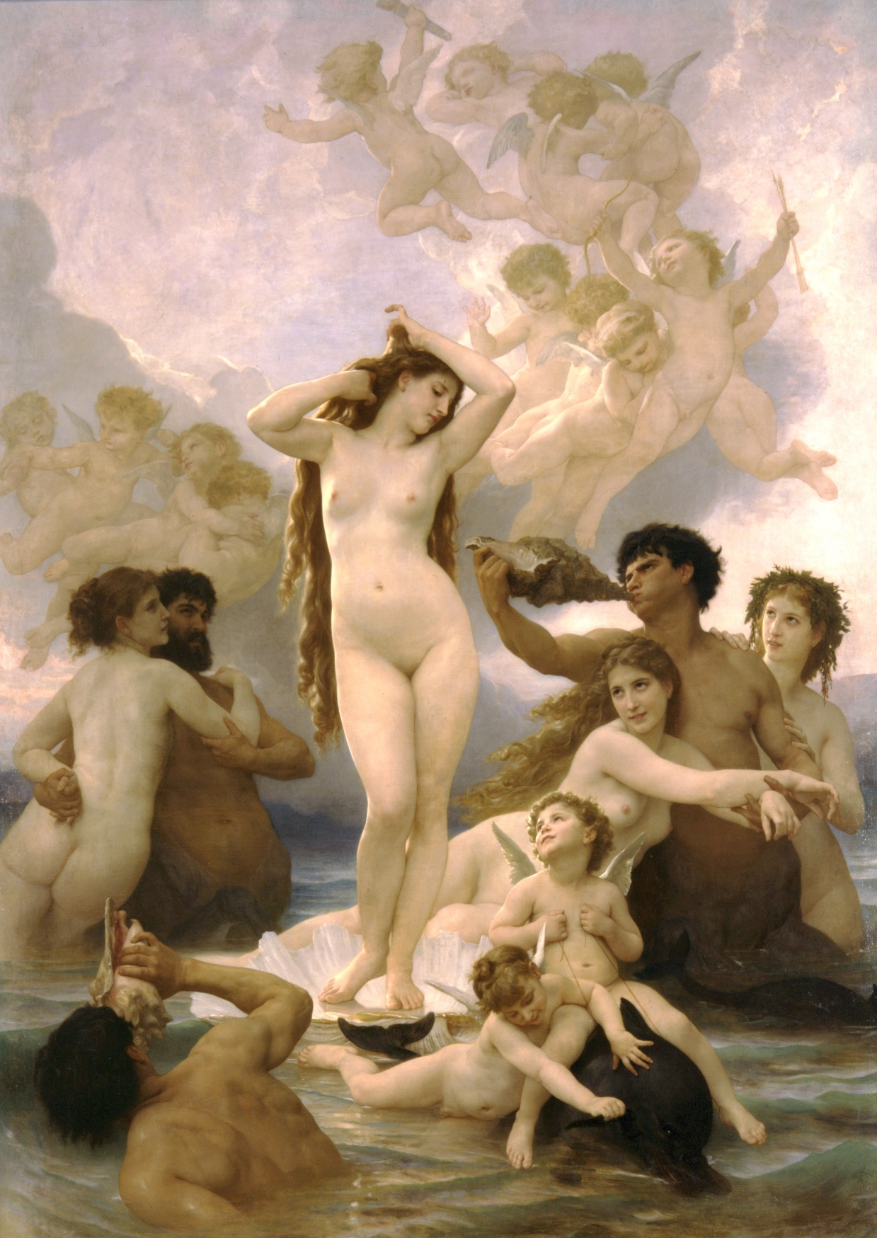 Aphrodite, Ares, and Cupid
