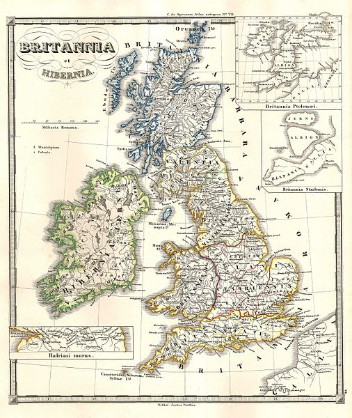 The ancient British Isles