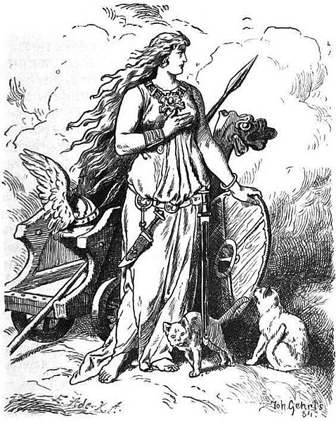 Freyja Seeking Her Husband