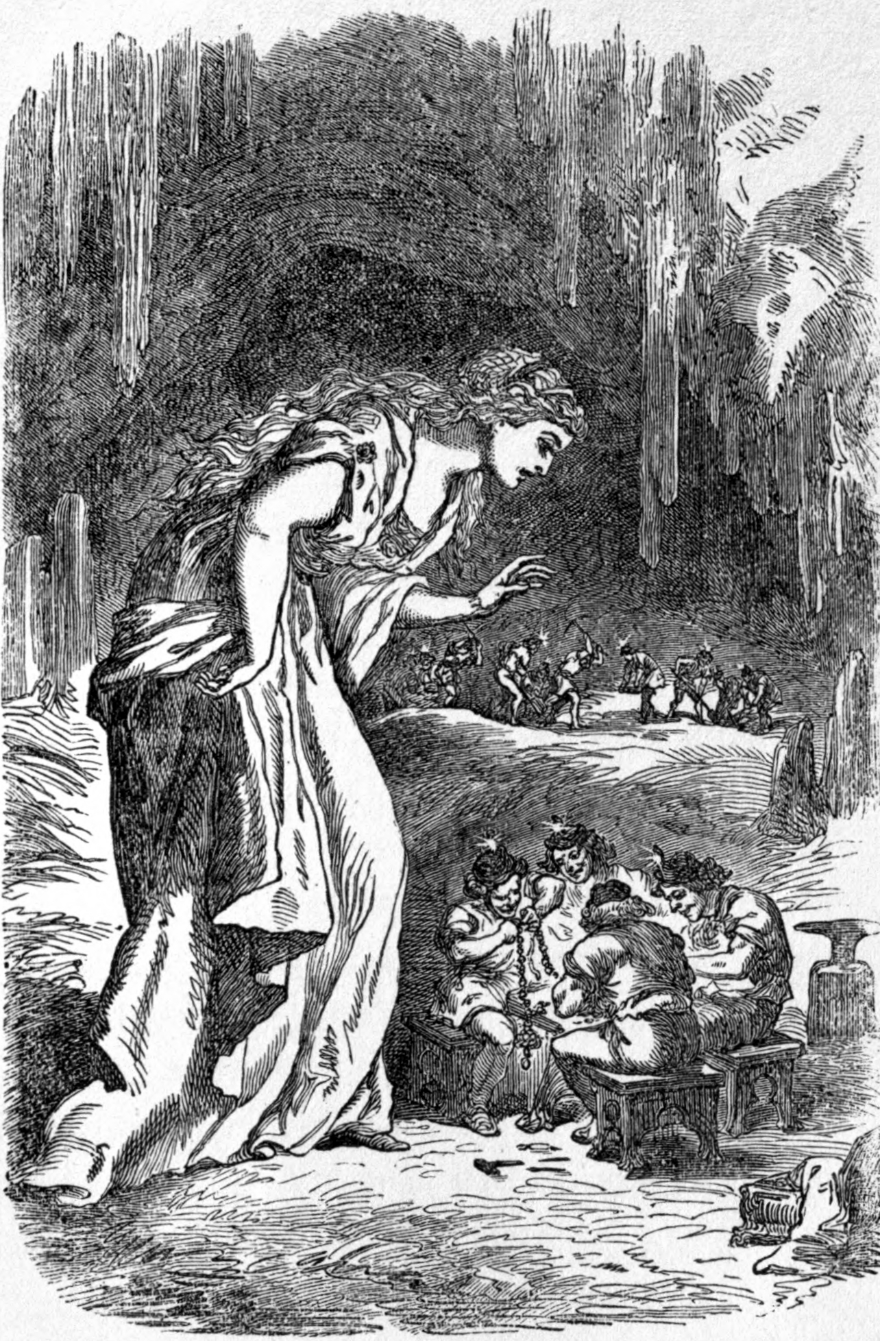Freyja and the Dwarves