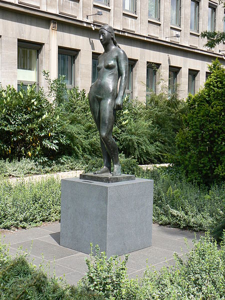 Modern-Day Sculpture of Freyja