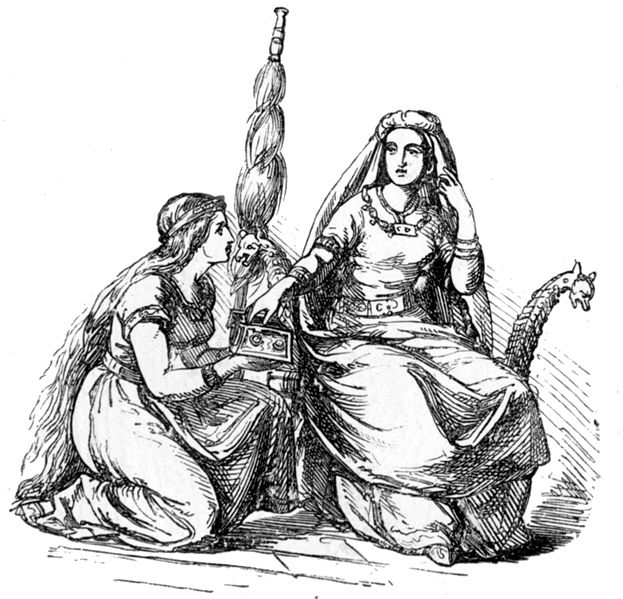 Frigg and Her Ladies