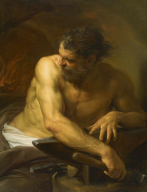 Hephaestus with His Hammer