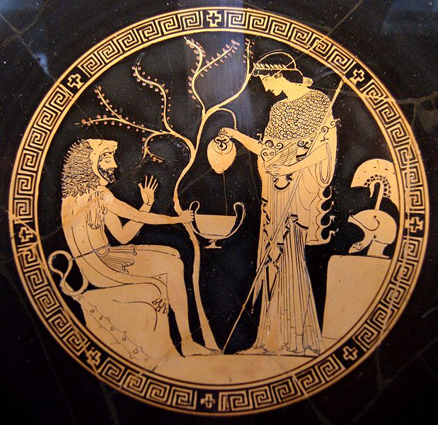 Heracles and Athena