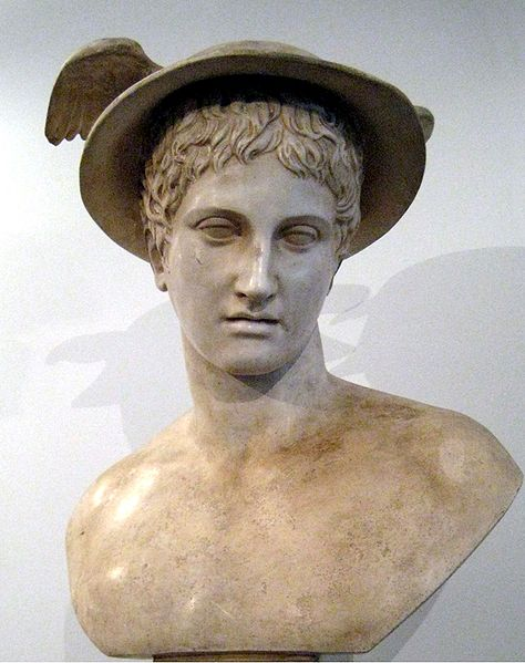 Portrait of Hermes