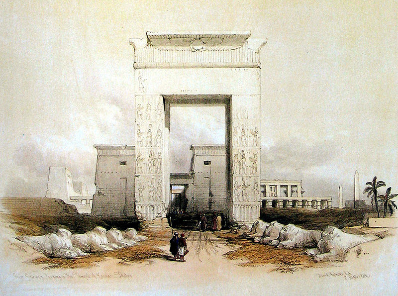 Bab el Amara Gate at Karnak
