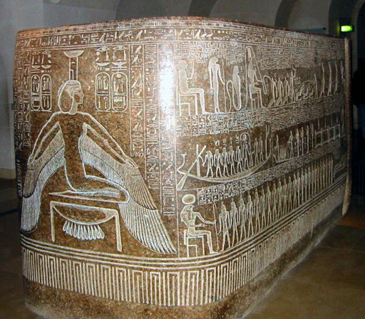Sarcophagus Box of Ramses III (another of my favorite kings)
