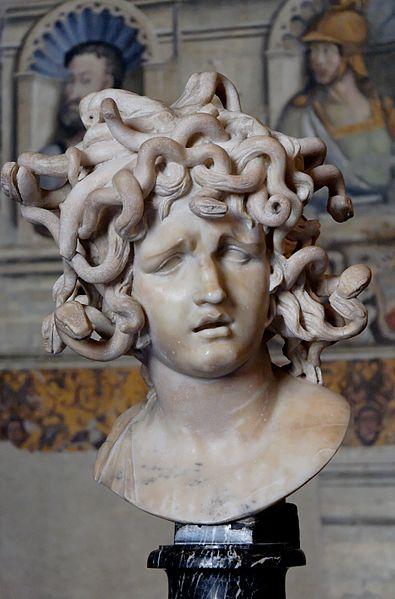 Sculpture of Medusa's Head