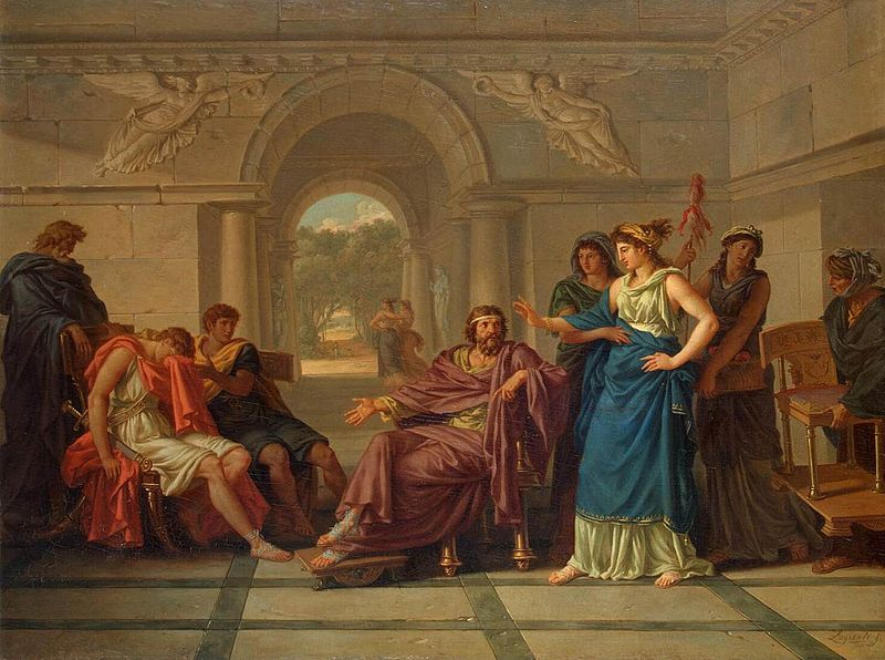 Visit from Telemachus