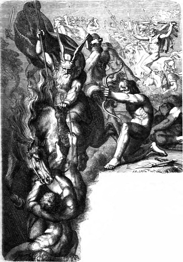 Odin in the Aesir-Vanir War
