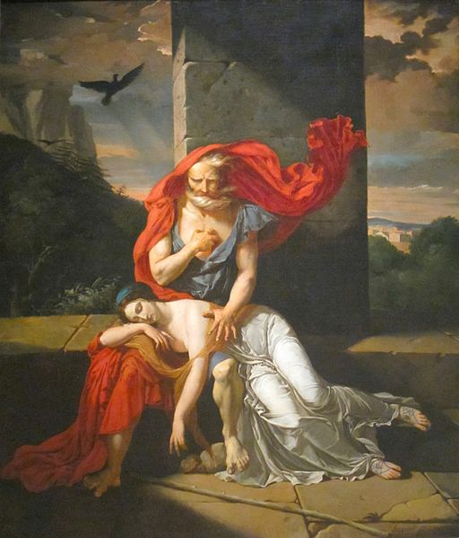 a critical analysis of the character of antigone in the mythical story antigone