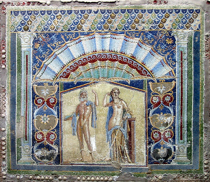 Mosaic of Poseidon and Amphitrite