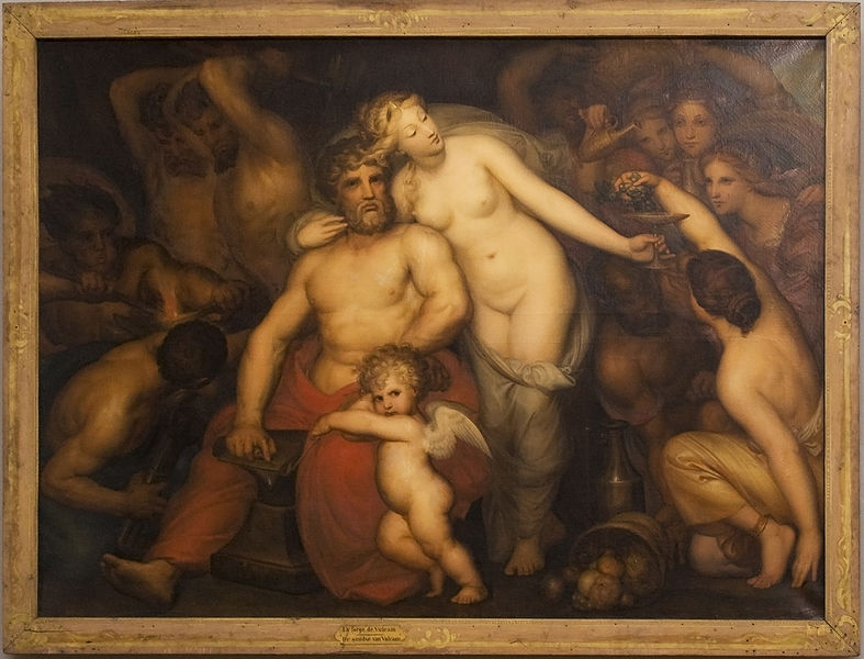 Hephaestus Catches Aphrodite and Ares