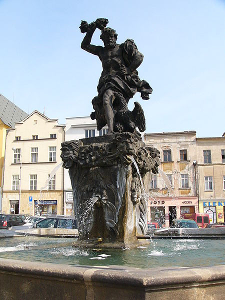 Zeus in a Fountain