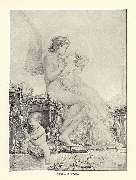 Psyche in Cupid's Arms
