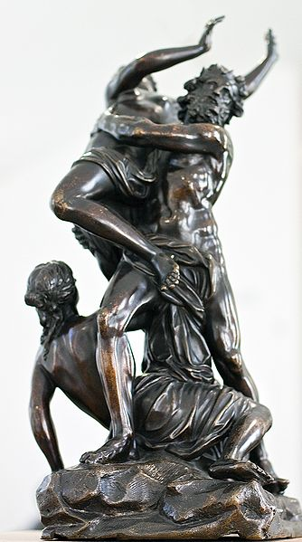 Sculpture of the Abduction
