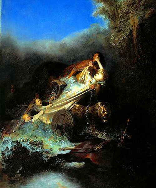 Persephone, Demeter, and Hades Photo: The Abduction