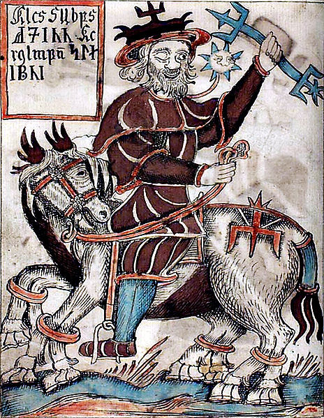 Odin and His Trusty Horse
