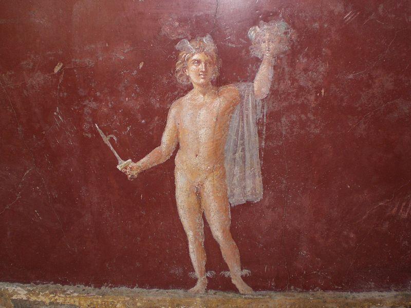 Fresco of Perseus