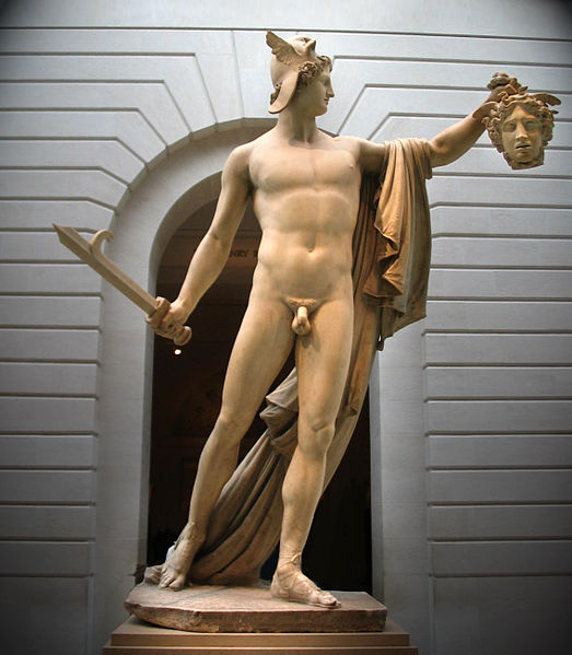 Another Perseus Statue