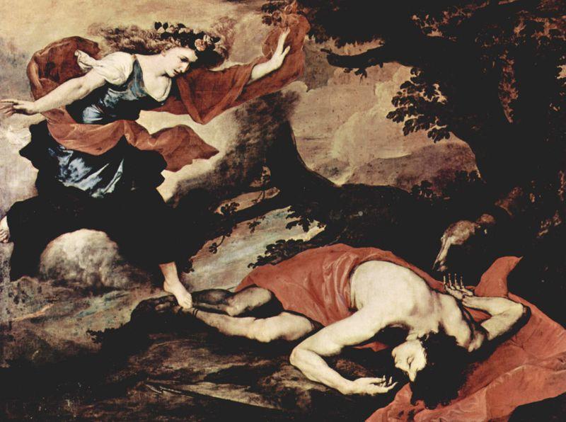 Venus Discovers Adonis Dead