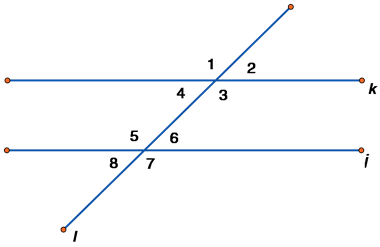 Basic Geometry Parallel Lines Transversals