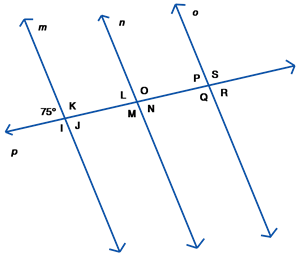 parallel lines amp transversals exercises