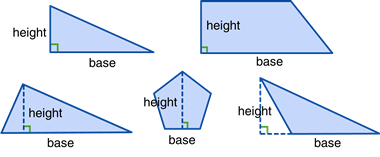 Height and Base Polygons