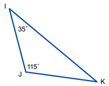 Triangle (find missing angle)