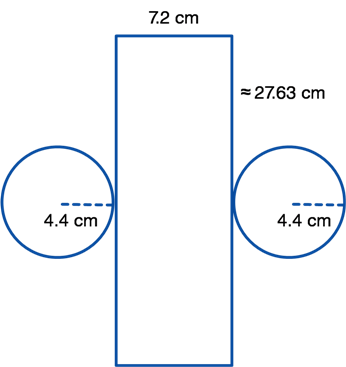 cylinder net with circumference