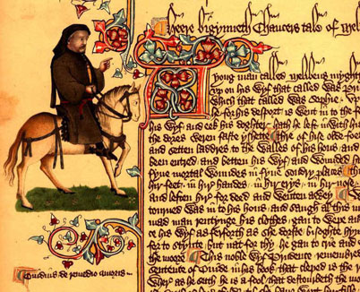 An analysis of the literature relationships in canterbury tales by geoffrey chaucer