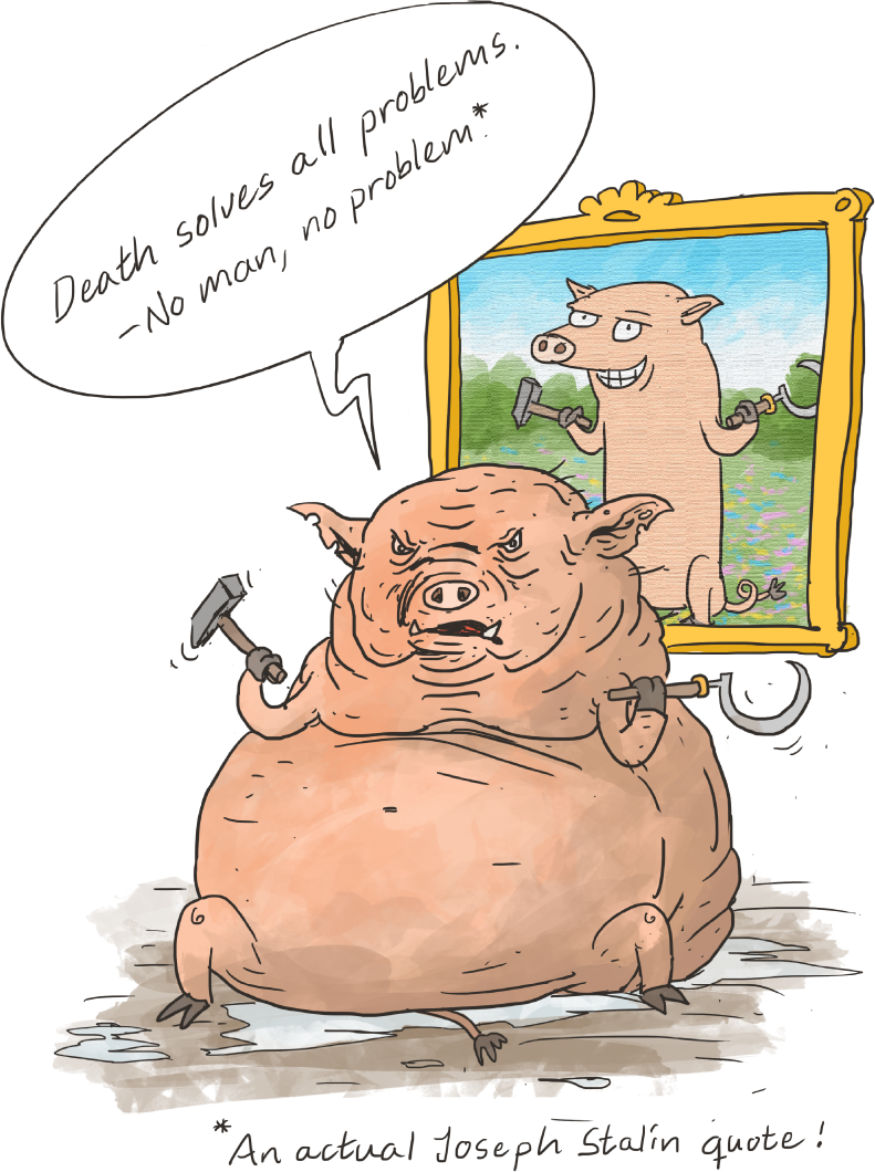 eb8f0f4b3 Napoleon (a pig) in Animal Farm