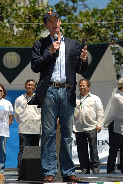 San Francisco Mayor Newsom