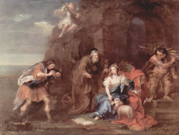 A Scene, by Hogarth