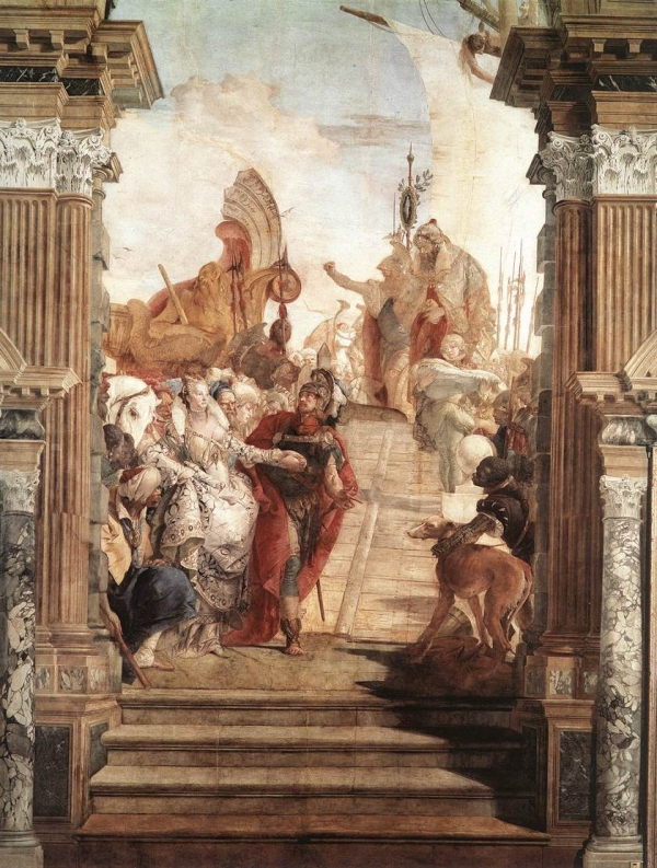 Painting by Tiepolo
