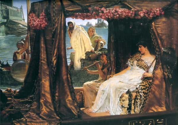 Painting by Alma-Tadema