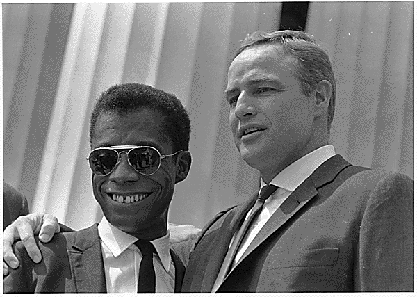 Baldwin and Brando