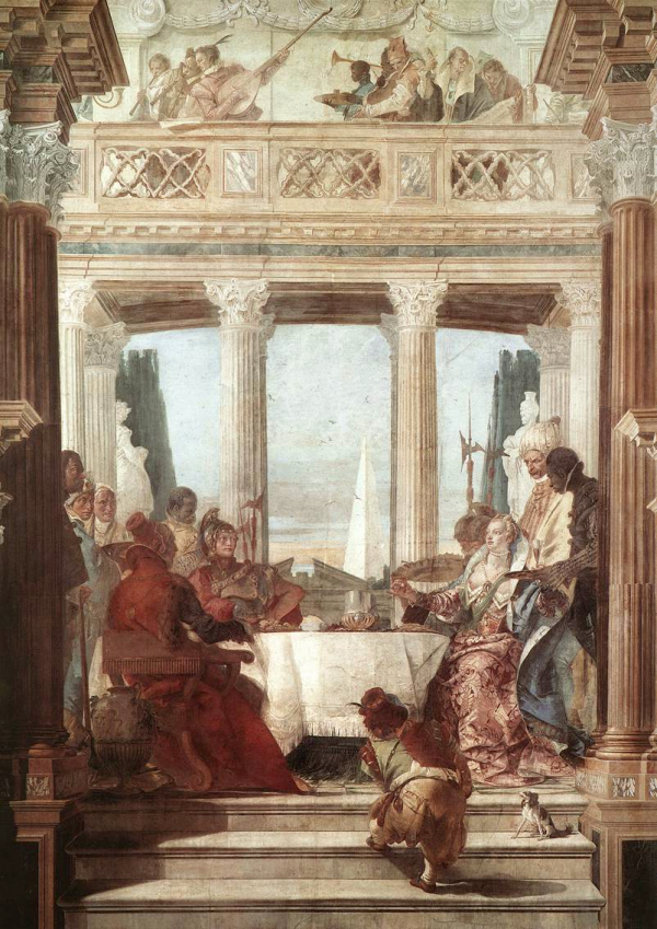 The Banquet, by Tiepolo
