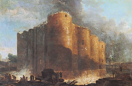 The Bastille, by Robert