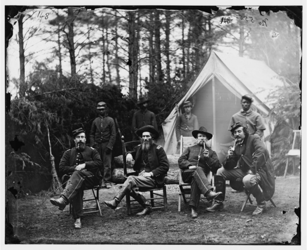 The civil war photo black and white soliders