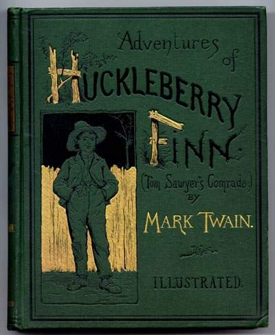 An analysis of the themes in the adventures of huckleberry finn by mark twain