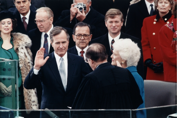 Bush, Sr.'s Inauguration