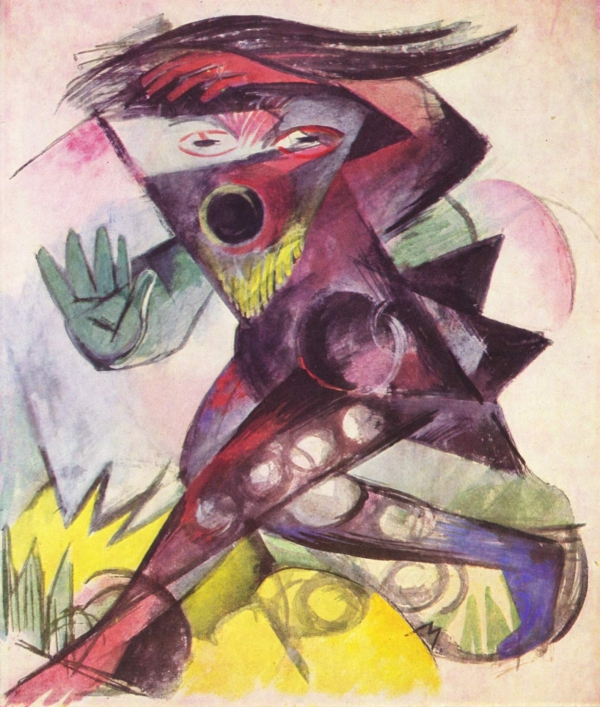 Caliban, by Franz Marc