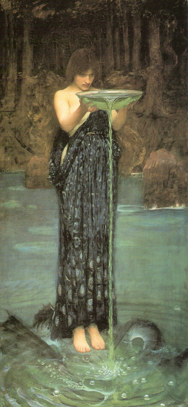 Circe, by Waterhouse