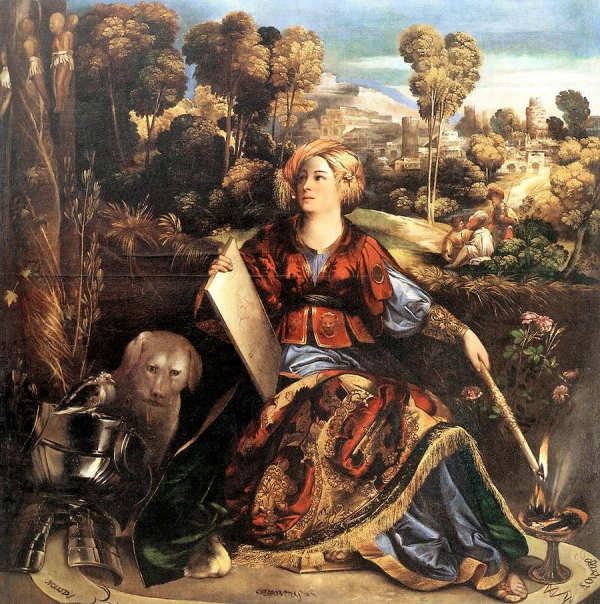 Circe, by Dossi