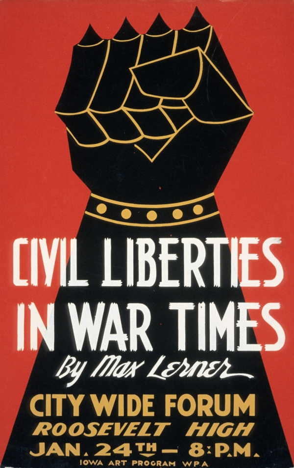 """Civil Liberties in War Times"""