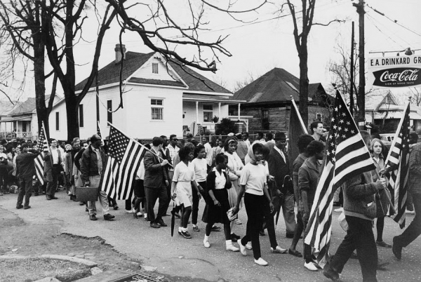 Image result for civil rights march in alabama in 1965