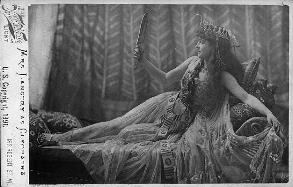 the tragedy of antony and cleopatra lillie langtry as cleopatra lillie langtry as cleopatra
