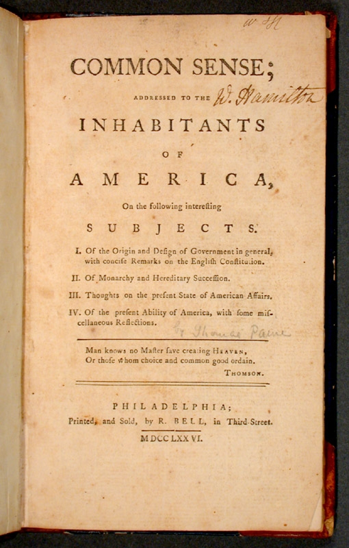 an analysis of thomas paines role in american independence Clark's analysis of the contextual thomas paine offers fresh insights to his political thought and to his role in the age of revolution though his insights.
