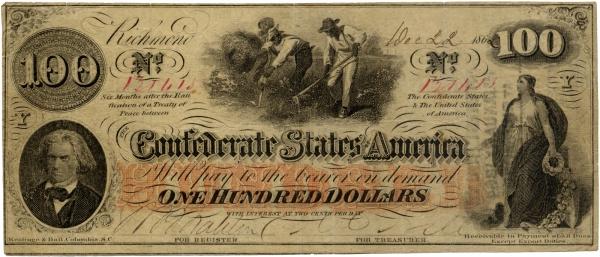 The Civil War Photo: Confederate Money